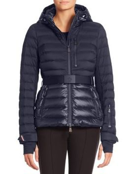 Bruche Hooded Puffer Jacket by Moncler