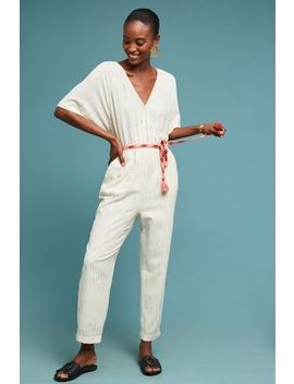 Soleil Belted Jumpsuit by Feather Bone