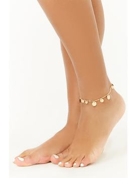 Disc Charm Anklet by Forever 21