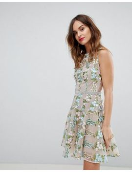 Bronx & Banco Delicate Embroidered Mini Dress by Bronx And Banco