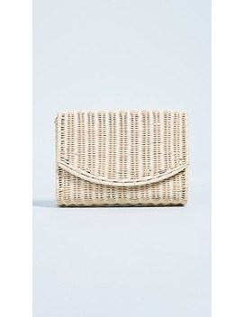 Molly Crossover Wicker Clutch by Rocio
