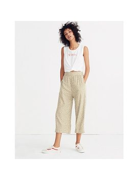 Huston Pull On Crop Pants In Mini Daisy by Madewell