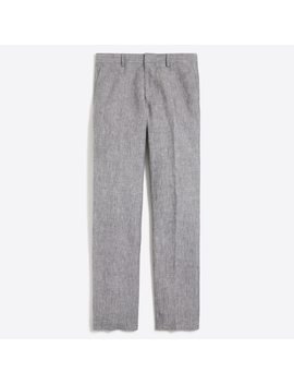 Slim Fit Thompson Suit Pant In Linen by J.Crew