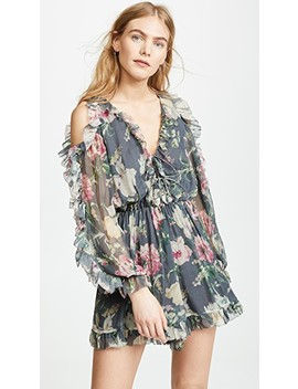 Iris Tie Sleeve Romper by Zimmermann