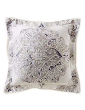 Ellsworth Watercolor Medallion Pillow by Southern Living