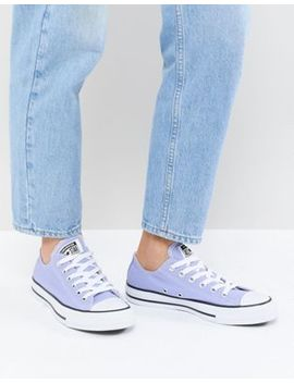 Converse Chuck Taylor All Star Trainers In Lilac by Converse
