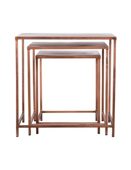 Pollock Set Of 3 Nesting Tables by Blackhouse