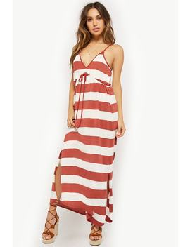 An M Striped Maxi Dress by Forever 21