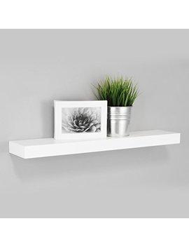 Kiera Grace  Maine Wall Shelf/Floating Ledge, 24 Inch   White by Kiera Grace