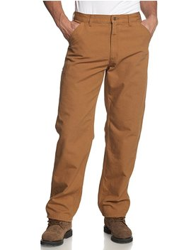 Carhartt Men's Washed Duck Work Dungaree Utility Pant B11 by Amazon