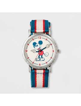 Boys' Disney Mickey Mouse Watch   Blue/White/Red by Disney