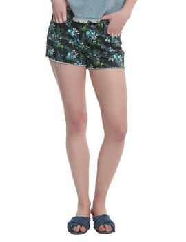 Disney Lilo &Amp; Stitch Tropical Print Shorts by Hot Topic
