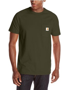 Carhartt Men's Force Cotton Short Sleeve T Shirt Relaxed Fit by Amazon