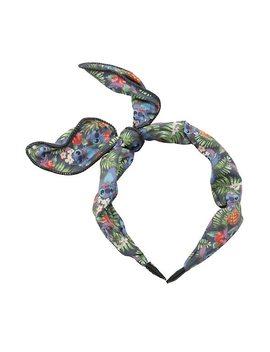 Disney Lilo &Amp; Stitch Floral Tie Headband by Hot Topic
