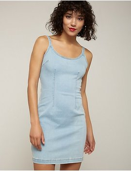 Denim Bodycon Dress by Charlotte Russe