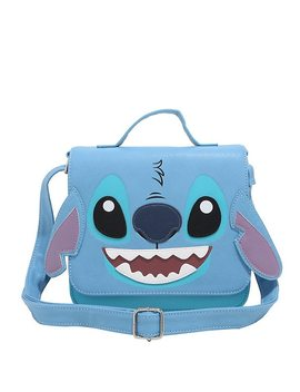 Loungefly Disney Lilo &Amp; Stitch Face Satchel by Hot Topic