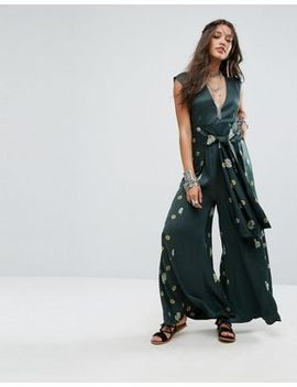 Free People Floral Printed Jumpsuit by Free People