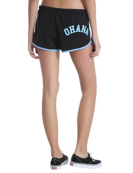Disney Lilo &Amp; Stitch Ohana Lounge Shorts by Hot Topic
