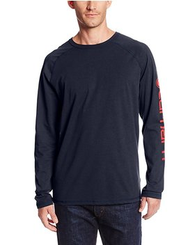 Carhartt Mens Force Cotton Delmont Sleeve Graphic T Shirt by Amazon