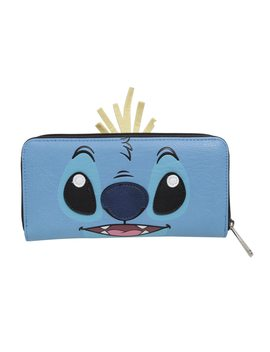 Loungefly Disney Lilo &Amp; Stitch Scrump &Amp; Stitch Dual Face Zipper Wallet by Hot Topic