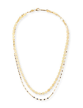 14k Duo Nude Blake Necklace by Lana