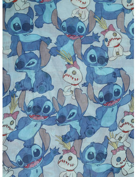 Disney Lilo &Amp; Stitch Tossed Stitch &Amp; Scrump Oblong Scarf by Hot Topic