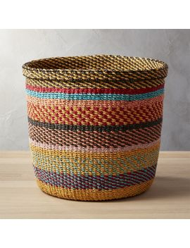 Joya Multi Color Basket by Crate&Barrel