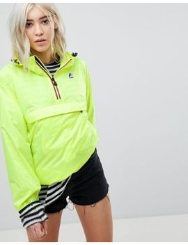 K Way Leon Festival Pullover Waterproof Jacket by Jacket