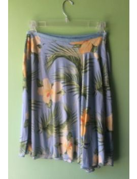 Tommy Bahama Ladies  Skirt 100 Percents Silk  Size Medium 4 6 by Tommy Bahama