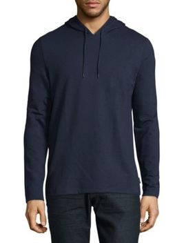Cotton Hooded Zip Jacket by John Varvatos Star U.S.A.