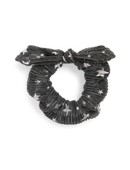 Foil Print Bunny Scrunchie by New Friends Colony