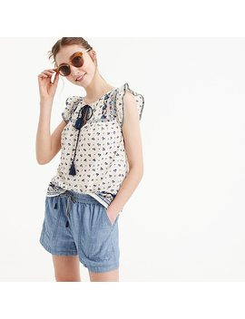 Point Sur Seaside Short In Chambray by J.Crew