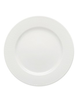 Rörstrand Swedish Grace Dinner Plate In Snow by Bed Bath And Beyond