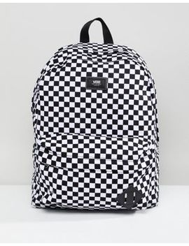 Vans Old Skool Ii Backpack In Checkerboard by Vans