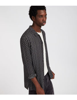 Notes Long Sleeve Shirt by Allsaints