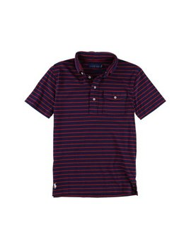 Ralph Lauren Mens Striped Rugby Polo Shirt by Ralph Lauren