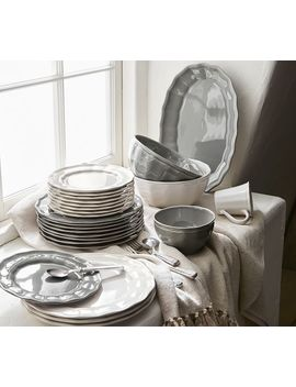 Charlotte 16 Piece Dinnerware Set by Pottery Barn