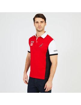 Nautica Mens Slim Fit Canada Stadium Polo Shirt by Nautica