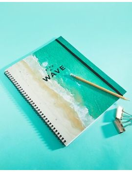 Typo Ride The Wave A4 Notebook by Typo