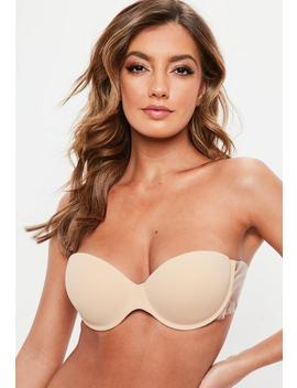 Nude Winged Super Push Up Stick On Bra by Missguided