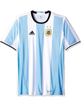 $90 International Soccer Argentina Men's Jersey, Small, Clear Blue/White by Adidas