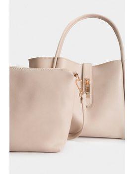 Rowan Handbag   Natural by Lola Shoetique