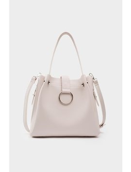 Bristol Handbag   Grey by Lola Shoetique