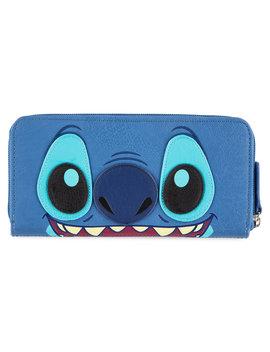 Stitch Zip Around Wallet By Loungefly by Disney