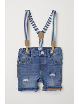 Shorts With Suspenders by H&M
