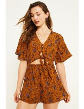 Uo On The Run Playsuit by Urban Outfitters