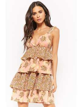 Vero Moda Floral Tiered Dress by Forever 21