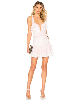 Dixie Ruffled Mini Dress by For Love & Lemons