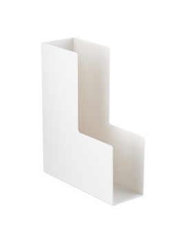 White Poppin Magazine Holder by Container Store