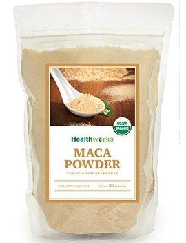 Healthworks Maca Powder Peruvian Raw Organic, 2lb by Healthworks